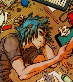 Where are you going? by rumrock on DeviantArt - Gorillaz 2D