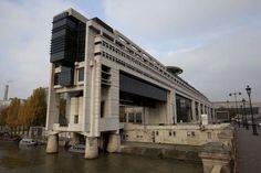 figarofr: Le ministère de l'Économie, à Bercy.