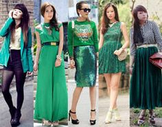 10 Ways to Style Emerald Outfits