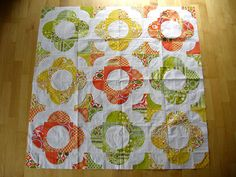 Drunkards Path Quilt Top by NeedleAndSpatula, via Flickr- love this layout. Maybe for my FMF?