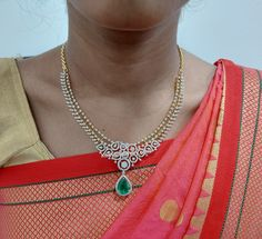 South Indian Diamond Necklace
