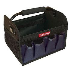 Stocking Stuffer Craftsman -12 in. Tool Tote - Blue. Get CashBack to at www.shop.com/heidihoefler/cashback with referral code heidi.hoefler.ma@gmail.com.