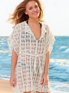 How pretty is this beach cover up? Learn how to make it with our tutorial.