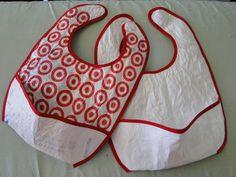 Fused Plastic Bag Bibs                                                                                                                                                                                 More