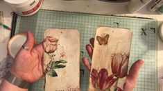 Lets make decoupaged crackle effect tags Pocket Envelopes, Handmade Tags, Card Tags, Gift Tags, Vintage Scrapbook, Pocket Cards, Junk Journal, Journal Ideas, Tag Art