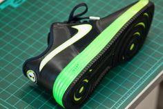 NIKE LUNAR FORCE 1 FUSE 2013 SAMPLE #sneaker