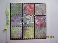 Patchwork using toning papers