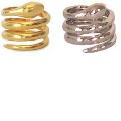 NATHAN AND MOE: Snake Ring- Want to be in the same circle such as Lindsay Lohan, Nicole Ritchie, and Eva Longoria? If so, this is the ring for you! £85 @gift-library.com #ring #snakering