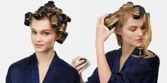New way to use hot rollers