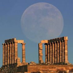Superluna, Atenas