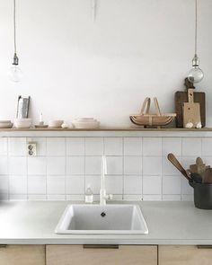 """827 Likes, 20 Comments - wij zijn kees (@wijzijnkees) on Instagram: """"Kitchen scene, with a small part of our handmade ceramic collection #wijzijnkees #ceramic…"""""""