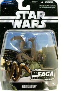 Star Wars Saga '06 Basic Exclusive Action Figure #71 Kitik Keed'kak by Hasbro