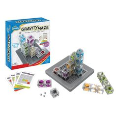 Gravity Maze -- This gravity powered logic maze is sure to put your visual perception and reasoning skills to the test.