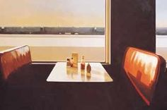 """Gallup Still Life, 1993. """"Sometimes Cathy (his wife) and I would go to the Museum of Modern Art to look at the paintings during lunch. One time I remember telling her that if only I could paint one good picture, I might be happy."""" In 1972, shortly after his 33rd birthday, he simply walked out of a meeting, away from his job and into the life of an artist."""