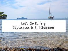 Don't fret to go sailing in Greece in September! The weather is still very warm, the strong summer winds have already stopped, & the sea is all yours.   #Halkidiki #sail #sailing #cruises #yacht #sailingtour #thingstodo #Greece #visithalkidiki @babasails