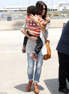 Sandra Bullock at LAX