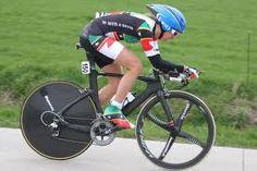 Kathryn Bertine  on her UNOVELO TT/TRI Bike - SLT1410 Triathlon Coaching, Performance Cycle, Metabolism, Athlete, Trail, Cycling, Bicycle, Stars, Fitness