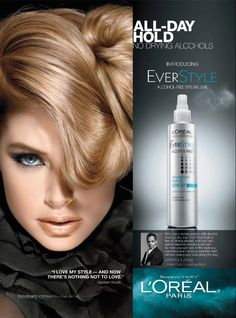 L'Oreal Paris HairCare Advertising with Doutzen Kroes Beauty Ad, Beauty Book, Beauty Makeup, Salon Design, Ad Design, Pilates, Tissue Engineering, Graphic Design Brochure, Cosmetic Design