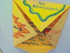 Teachingisagift: First Nations Legends Foldable (grade 3 art aboriginal) Social Studies Curriculum, Teaching Social Studies, Teaching Writing, Teaching Kids, Aboriginal Education, Indigenous Education, Aboriginal Culture, Canadian Social Studies, 3rd Grade Art