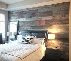 Feature wall of the day - Jared in Toronto DIY'd this wall with some help from friends. They used our classic grey reclaimed barn board along with some red accent boards. Great way to add some rustic charm to the space. Check us out in Hamilton or Toronto for the biggest selection of reclaimed wood and live edge slabs in the GTA. #featurewall #rusticwall #barnboard #barnwood #barn #reclaimed #reclaimedwood #rustic #rusticwood #igers #toronto #hamilton #hamont #tdot #the6ix #905 #cottage…