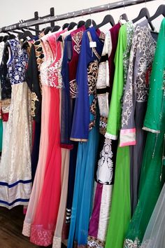 A wide selection of #anarkali suits, designer #indian pieces, #boutique piece's
