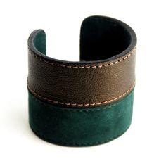 (87) Fab.com   Cuff Metallic Green