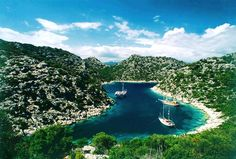 Kekova'nın muhteşem koyu Karaloz / Magnificent bay of Kekova / Turkiye