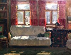 Лысенко Андрей Гаврилович (1916-2000) «Скоро весна. Абрамцево» 1974
