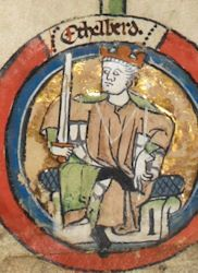 On 30 November Edmund Ironside, the King of England, was stabbed whilst on a toilet, by an assassin hiding underneath. British Royal Family Tree, Royal Family Trees, Anglo Saxon History, British History, Danish Vikings, Eslava, King George Ii, English Monarchs, Queen Of England