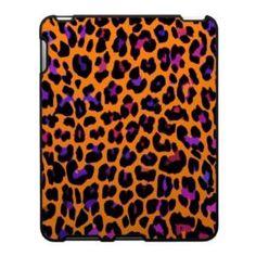 Orange Pop Leopard Print Ipad Case from Zazzle.com