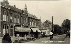 Veenendaal Hoogstraat Old Photos, Cities, Louvre, Ice Cream, Street View, Building, Travel, Old Pictures, No Churn Ice Cream