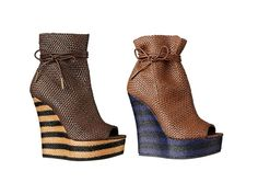 Spring-Summer 2012 of Shoes by Burberry Prorsum