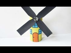 How To Make An Amazing Paper Roll Windmill - DIY Crafts Tutorial - Guidecentral