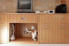 ペットにとって家の中のマイスペースは、かなり重要なのかもしれません。 今回は海外のデザインブログより、愛するペットが、不安にならず快適に過ごせる場所を提供するために有効な、ドックスペースの作り方・DIYをまとめてみました …