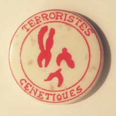Throbbing Gristle 32mm badge manufactured by better badges, London. #throbbinggristle #betterbadges #punkbadges