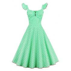 SHARE & Get it FREE | Polka Dot Buttoned Pin Up DressFor Fashion Lovers only:80,000+ Items·FREE SHIPPING Join Dresslily: Get YOUR $50 NOW!