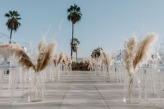 You've Got to See this Modern Meets Vintage Monochrome White Wedding in Hollywood - Green Wedding Shoes boho wedding You've Got to See this Modern Meets Vintage Monochrome White Wedding in Hollywood Chic Wedding, Wedding Styles, Dream Wedding, Wedding Decor, Wedding Centerpieces, Quinceanera Centerpieces, Wedding Ideas, Wedding Goals, Table Centerpieces
