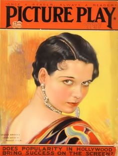 Picture Play Magazine August 1927, Louise Brooks