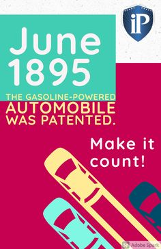 June 1895 - The Gasoline-Powered Automobile was patented. Make this summer count! Get started on your invention. Contact Inventor Process - Helping Inventors is all we do. 702-912-2600 Inventors, Count, Automobile, Marketing, History, Summer, Car, Historia, Summer Time