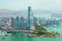 """The Ritz-Carlton, Hong Kong open recently and dominates the skyline as the world's """"highest"""" hotel."""