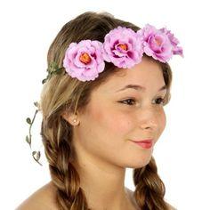 wholesale N34 Flower accent wreath headband Lavender Wholesale Hair Accessories, Wholesale Scarves, Buying Wholesale, Daisy Headband, Yoga Wear, Lavender, Leggings, Wreaths, Pink