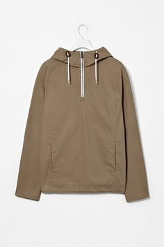 Hooded anorak