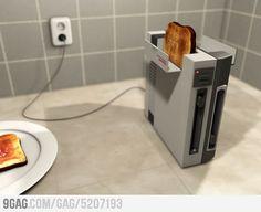 Nintendo toaster!!
