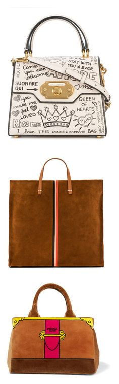 """""""bags 👛"""" by lianafourmouzi ❤ liked on Polyvore featuring bags, handbags, powder, leather purses, tote purses, man bag, leather handbags, leather tote bags, tote bags and borse"""