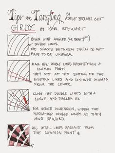 Karl Stewarts tangle Girdy has captivated me from the time it first appeared on Linda Farmers...