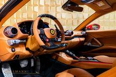 Ferrari 812 Superfast by MANSORY - Hollmann International - Germany - For sale on LuxuryPulse. Inside Car, Horse Logo, Racing Seats, Parking Camera, 5th Wheels, Brake Calipers, Super Cars, Ferrari, Germany
