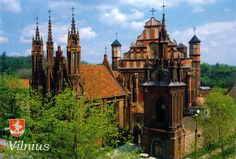 LITHUANIA (Vilnius) –  St. Anne's Church