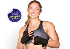 Oxygen Womens Fitness | Cover Girls | Ronda Rousey — January 2013  #ArmbarNation See more at RondaRousey.net