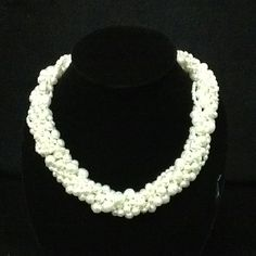 8 strand twist necklace- $200 Southern Belle, Classy Women, Wardrobe Staples, Pearl Necklace, Jewelry Making, Gems, Pearls, Hair, Accessories