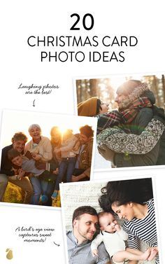 20 trendy family photo ideas—that will fill your Christmas card with extra merry this year.